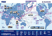 KDDI Global Network Map